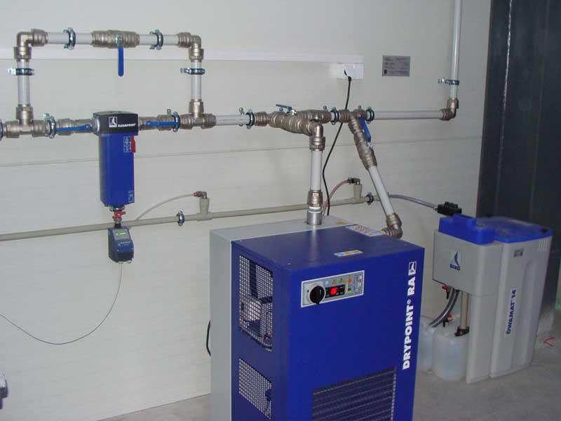 Instalacja Sprężonego Powietrza W Warsztacie Instalacja