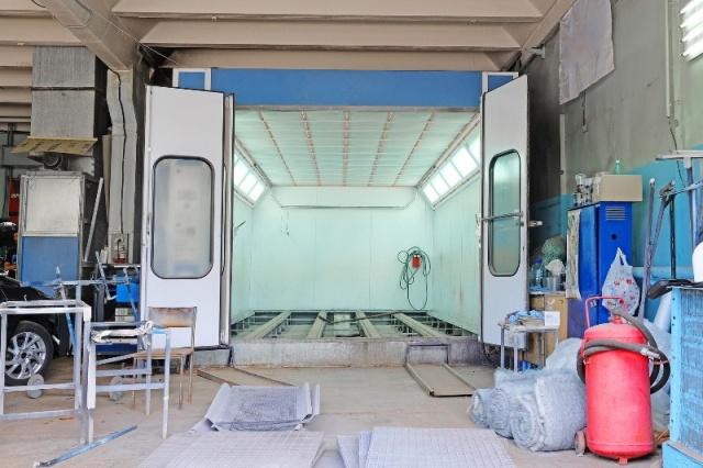 Nowoczesna architektura Komory, ściany, kabiny lakiernicze  malarskie  do malowania JW29