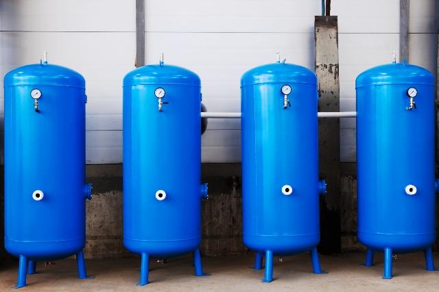 podłączenie zbiornika tlenu